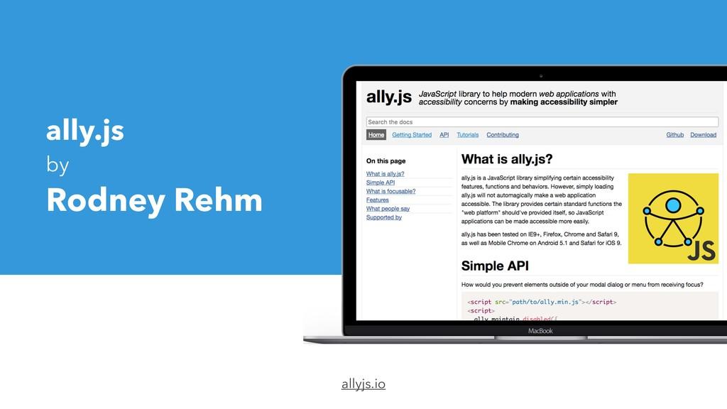 ally.js by Rodney Rehm allyjs.io