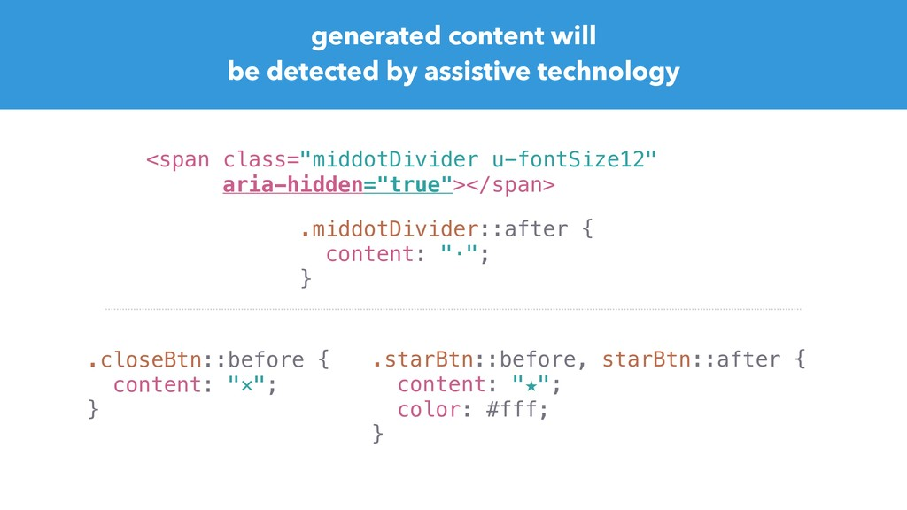 generated content will be detected by assistive...