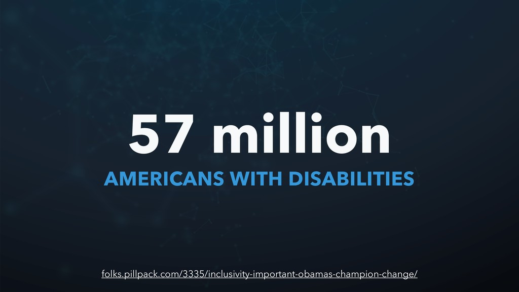 AMERICANS WITH DISABILITIES 57 million folks.pi...
