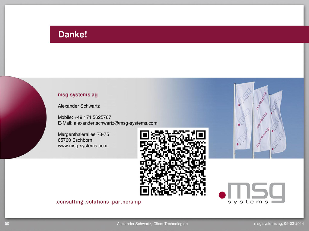 www.msg-systems.com Danke! msg systems ag, 05-0...