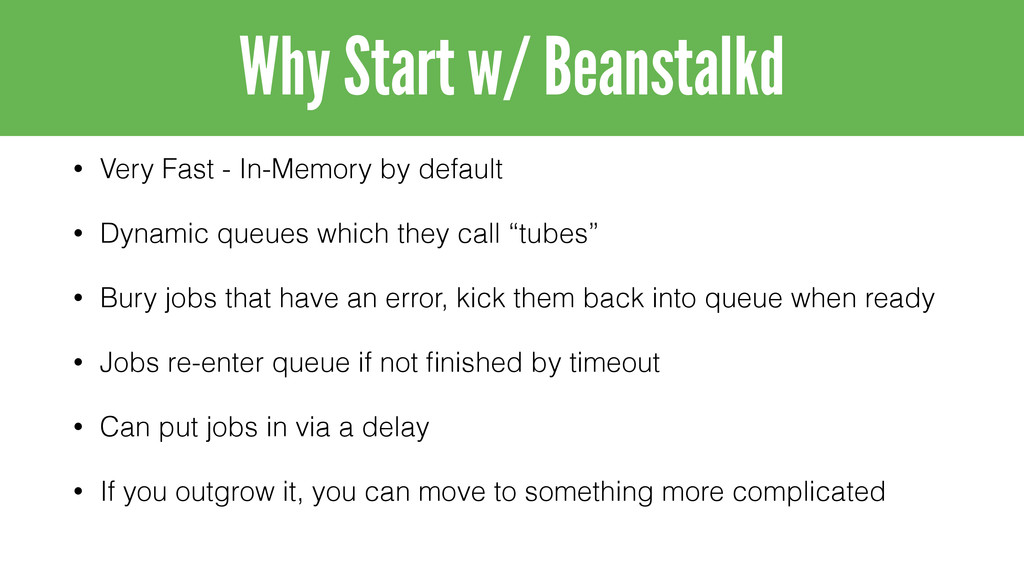 • Very Fast - In-Memory by default • Dynamic qu...