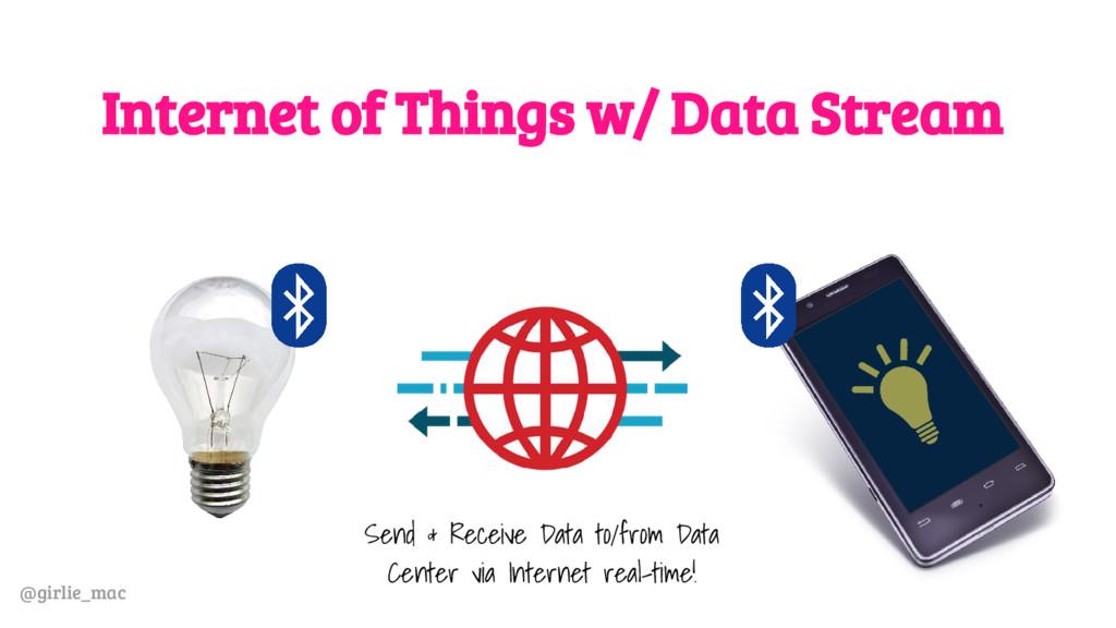 @girlie_mac Internet of Things w/ Data Stream S...