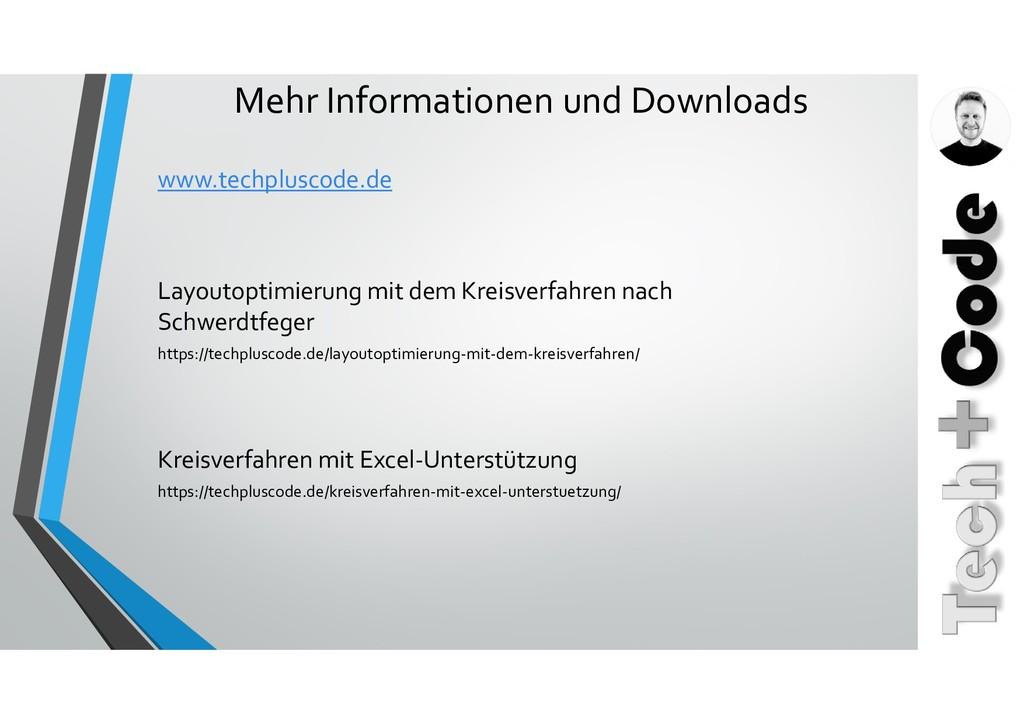 Mehr Informationen und Downloads www.techplusco...