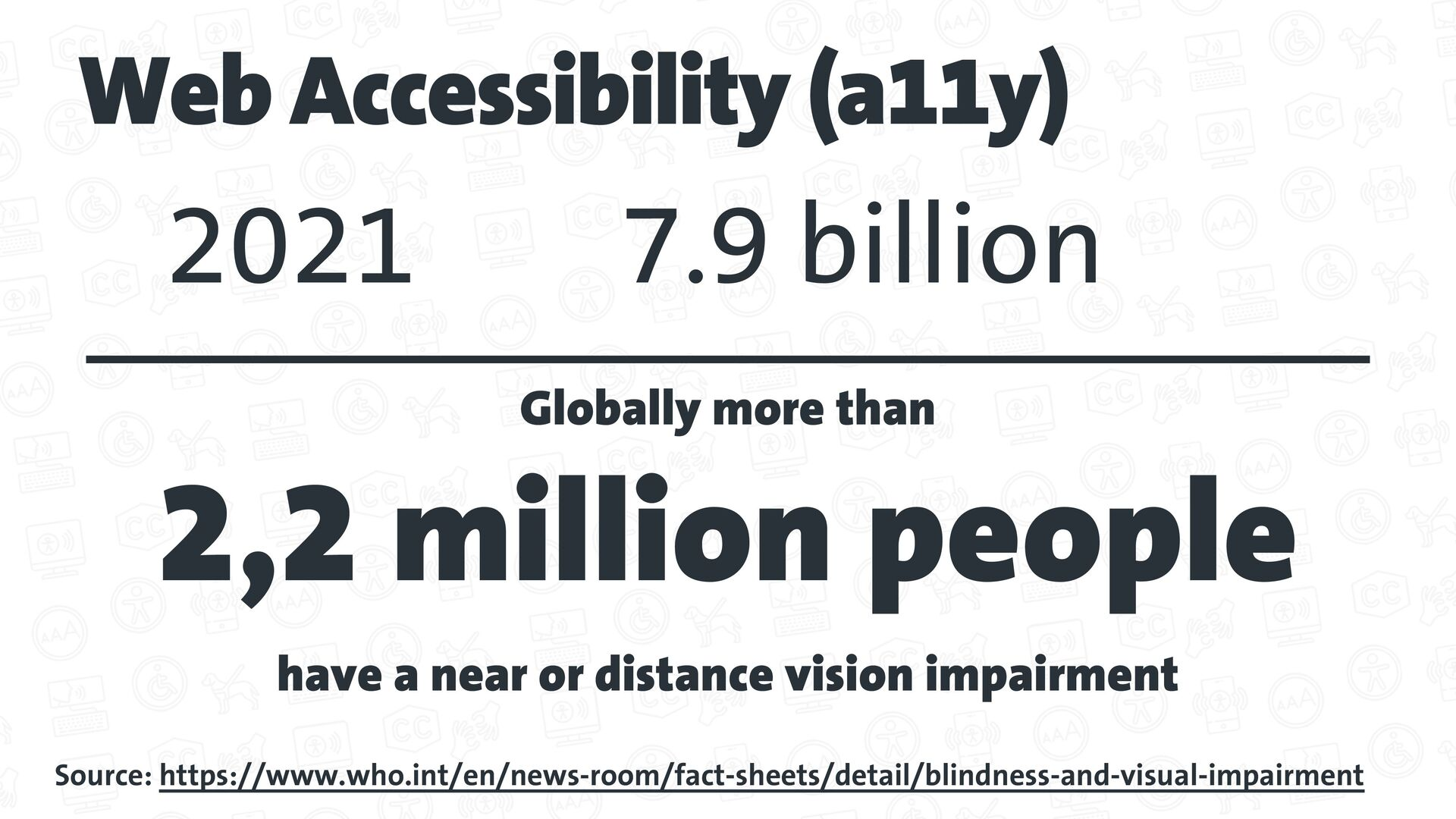 Developing Web Accessibility