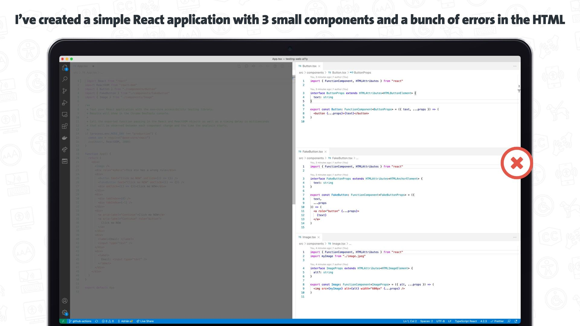 Test your code   while you develop