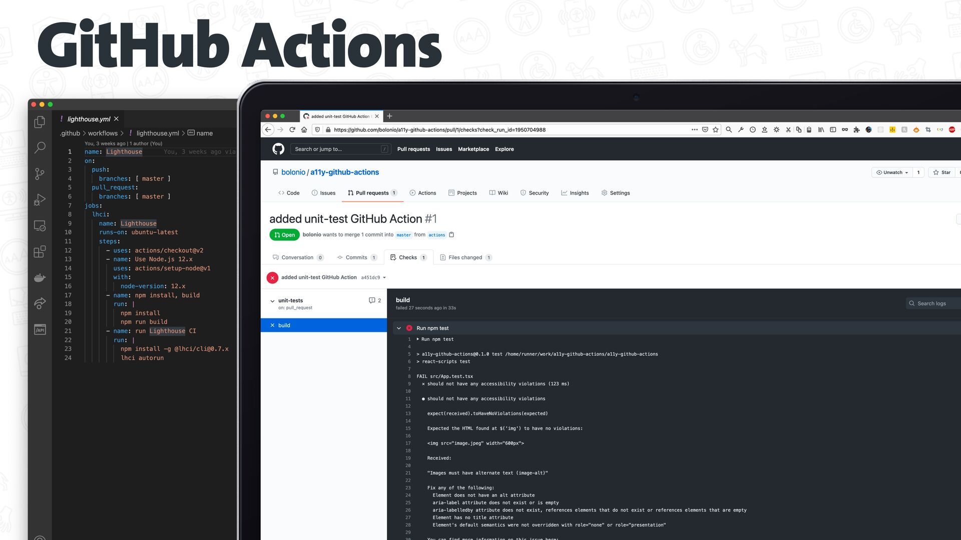 Testing a11y manually axe chrome extension http...