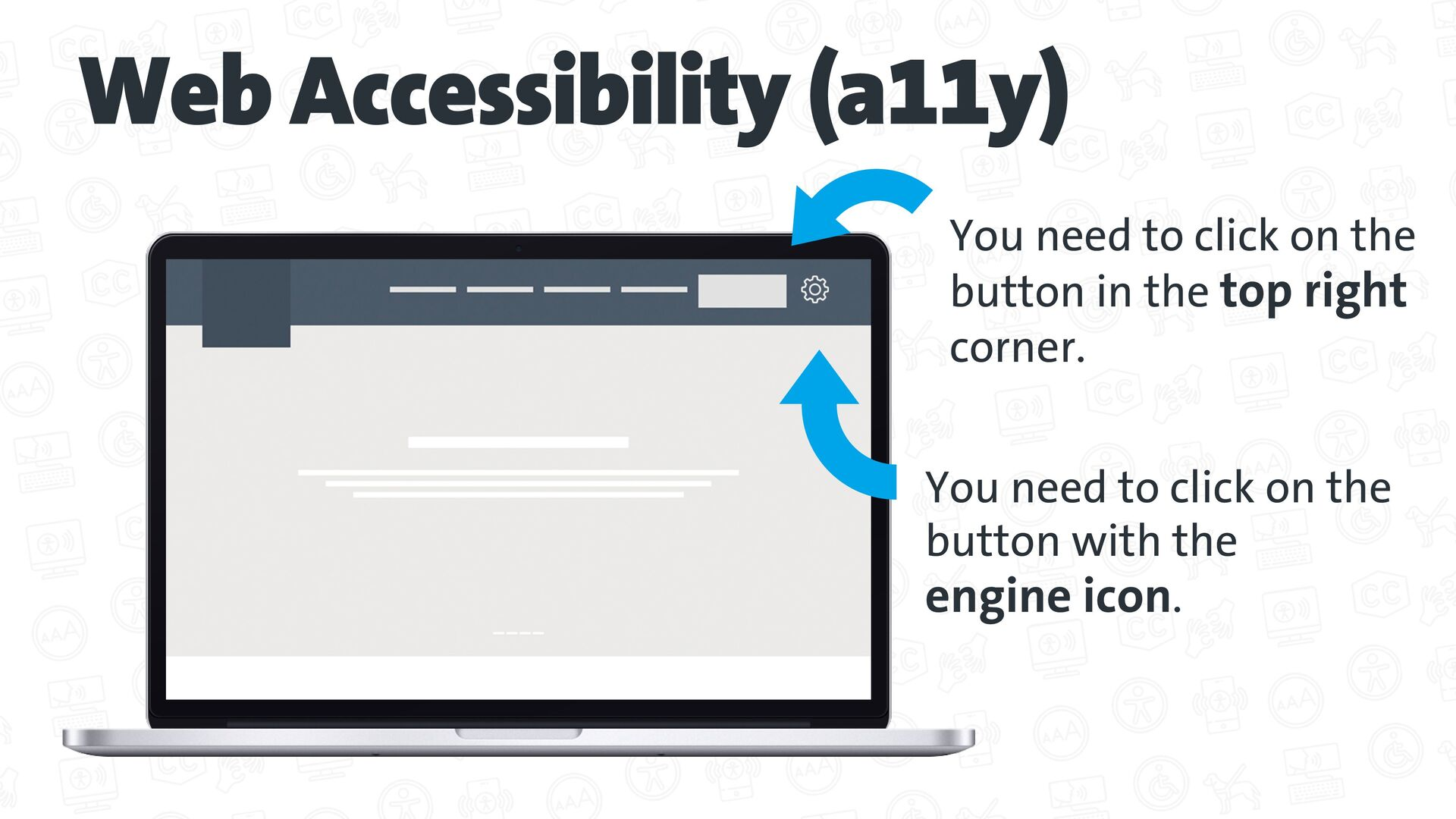 Web Accessibility (a11y) The Web is fundamental...