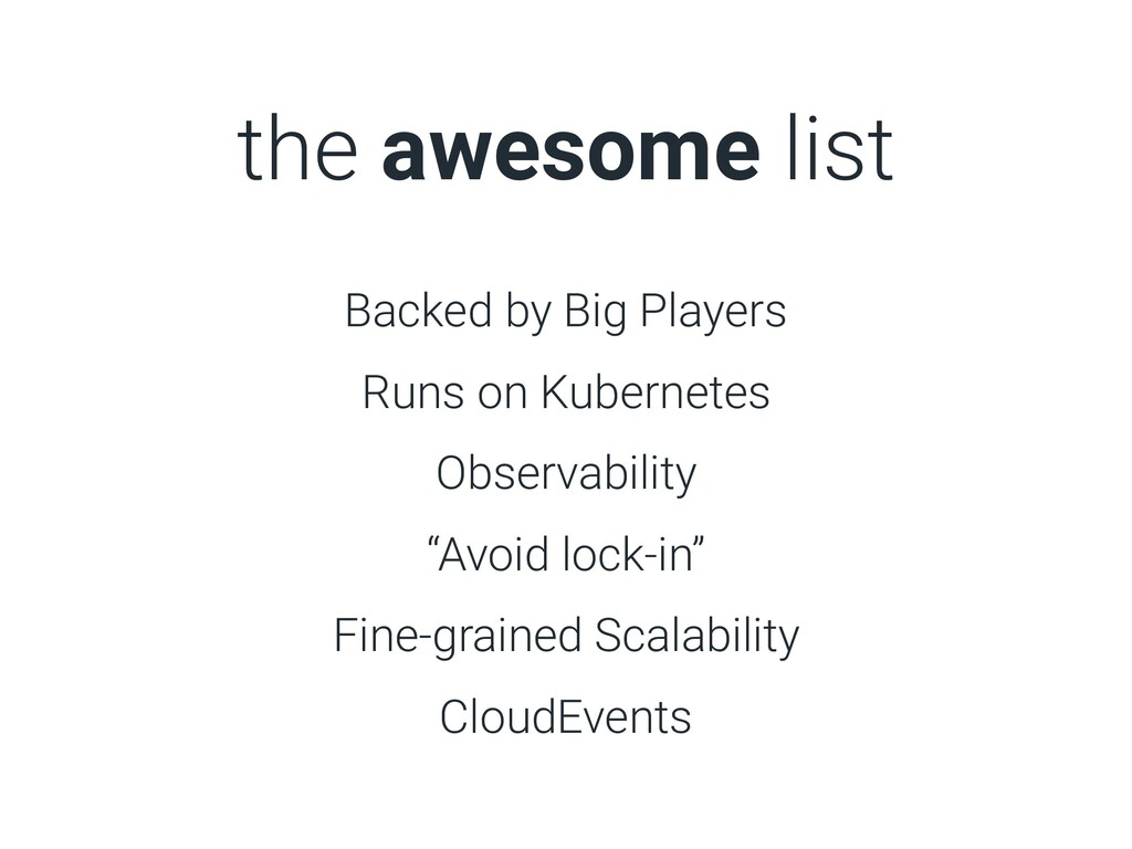 the awesome list Backed by Big Players Runs on ...