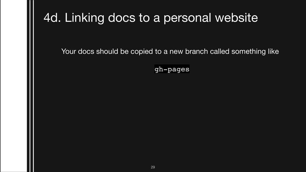 !29 4d. Linking docs to a personal website Your...