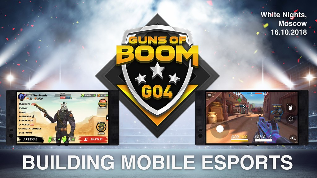 BUILDING MOBILE ESPORTS White Nights, Moscow 16...