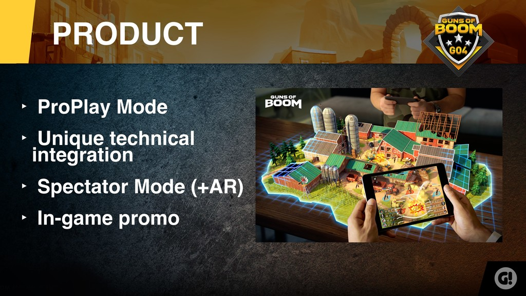 ‣ ProPlay Mode ‣ Unique technical integration ‣...