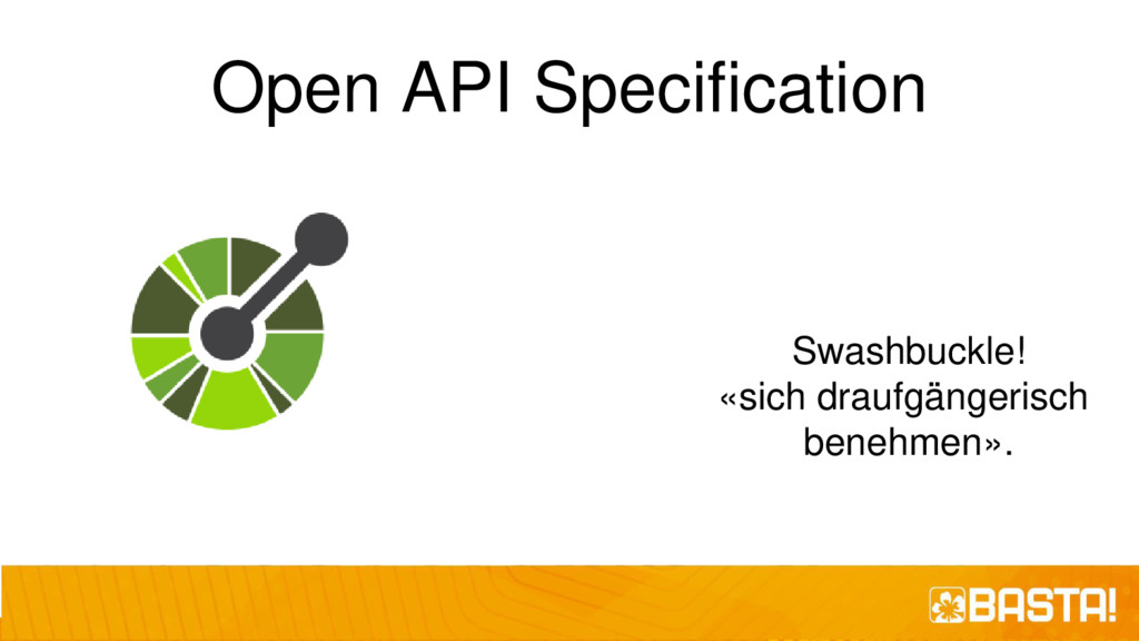 Open API Specification Swashbuckle! «sich drauf...