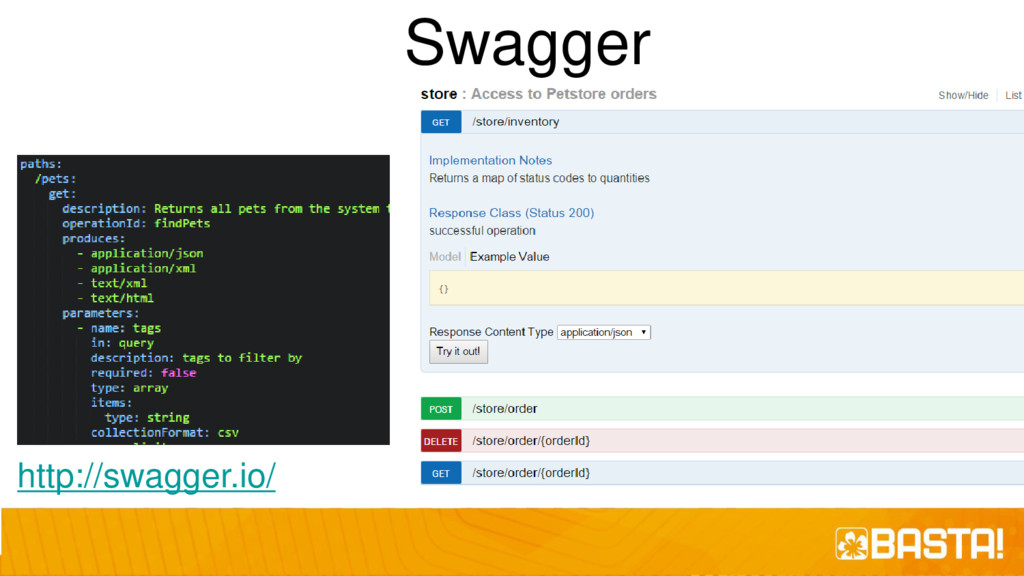 Swagger http://swagger.io/