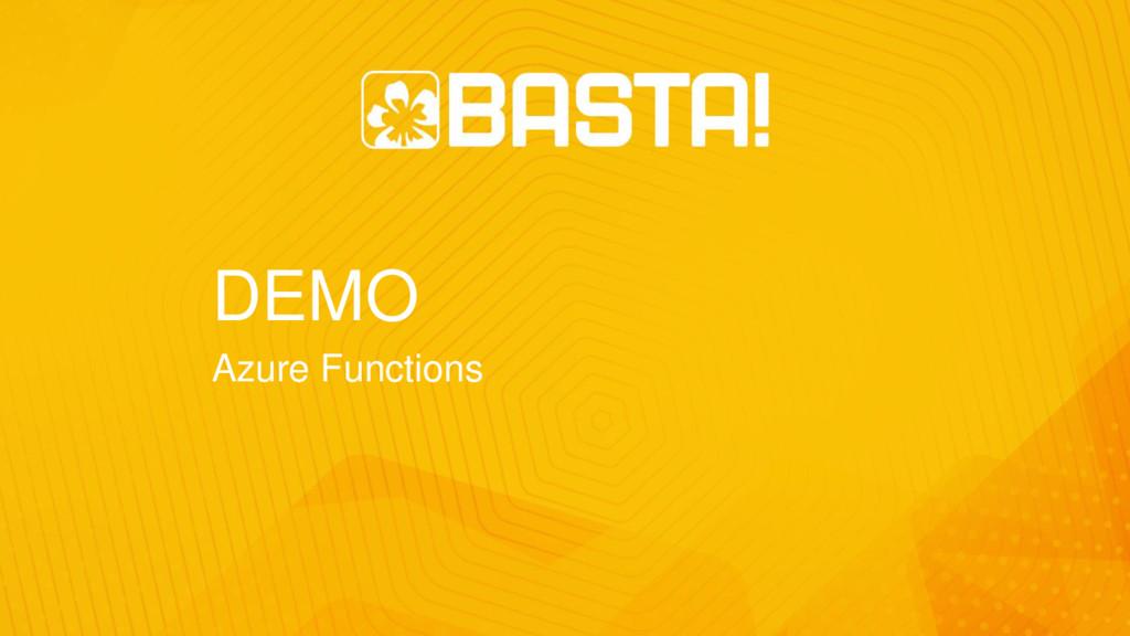 DEMO Azure Functions