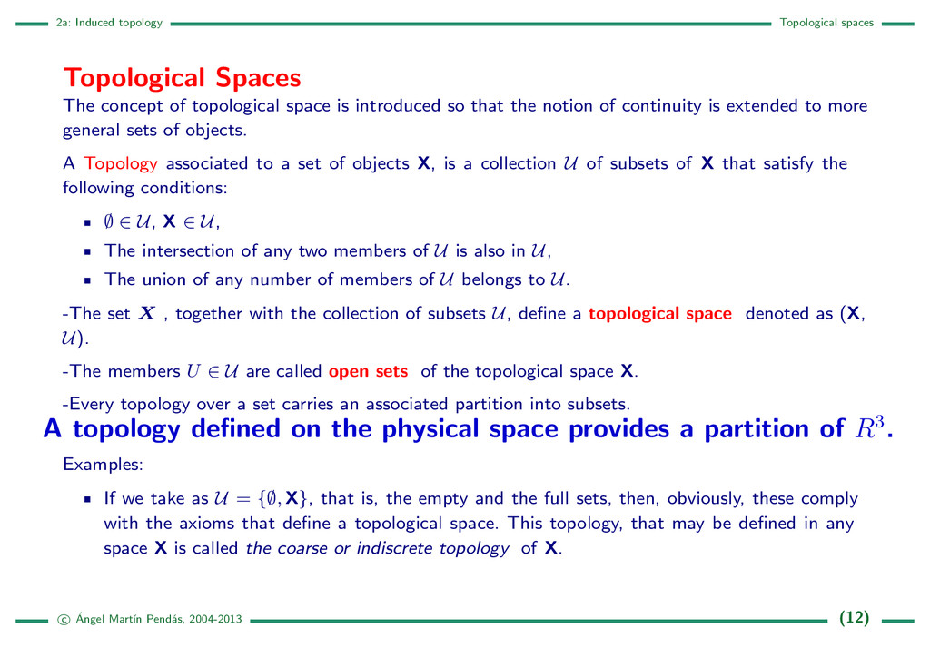 2a: Induced topology Topological spaces Topolog...