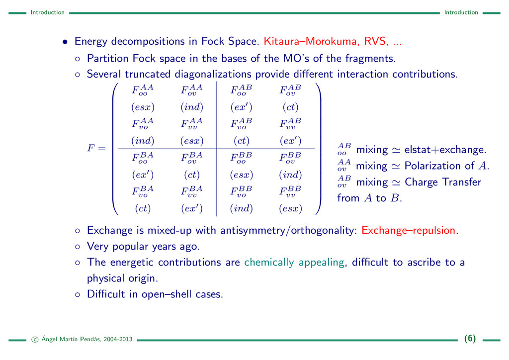 Introduction Introduction • Energy decompositio...