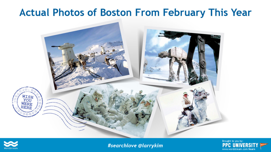 Actual Photos of Boston From February This Year...