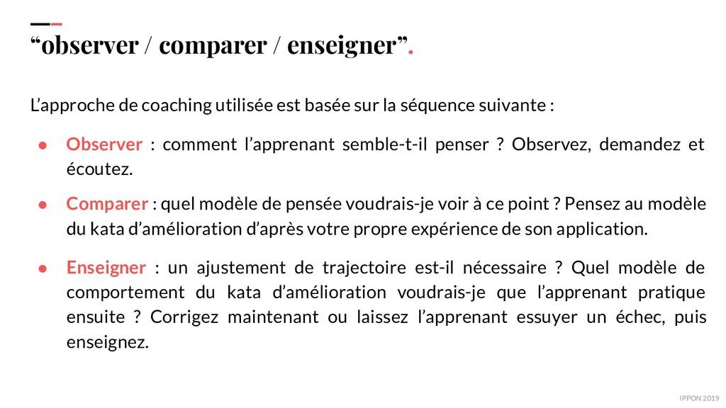 """IPPON 2019 """"observer / comparer / enseigner"""". L..."""