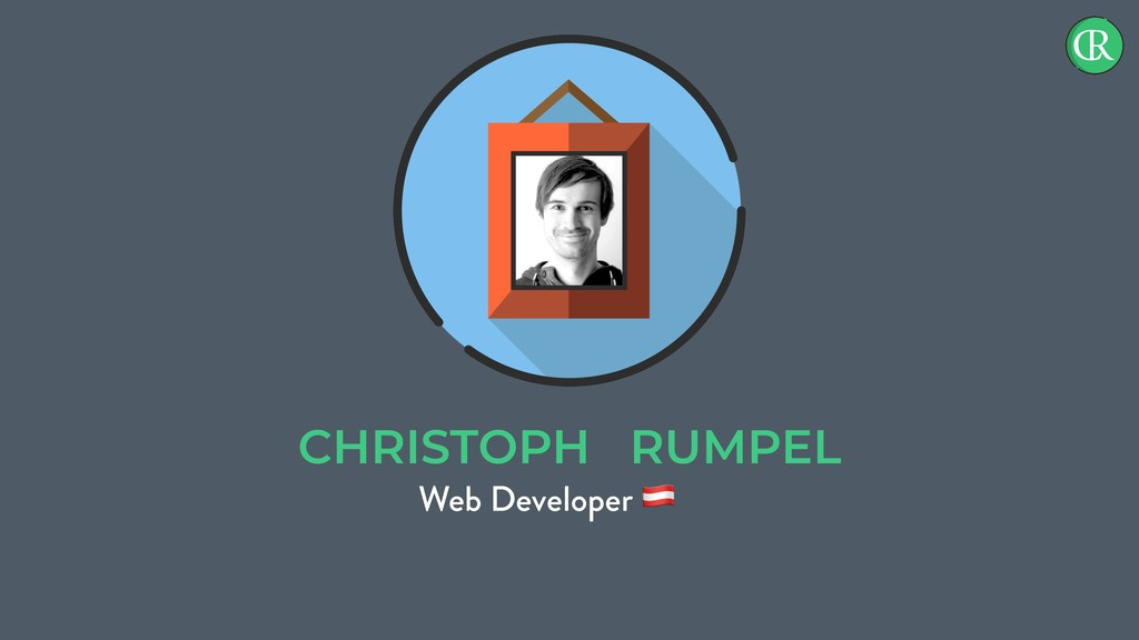 CHRISTOPH RUMPEL Web Developer !