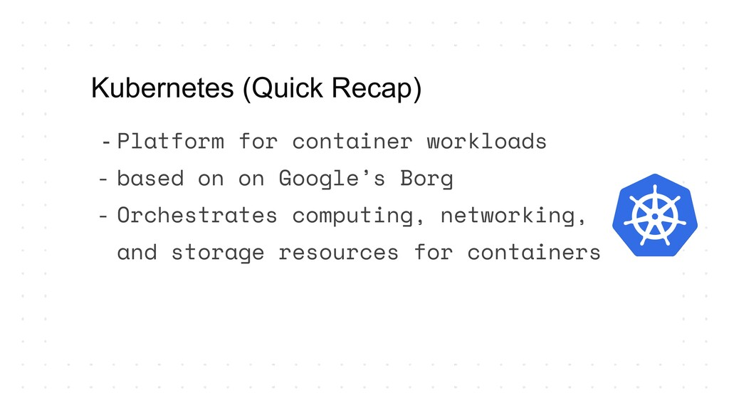 - Platform for container workloads - based on o...