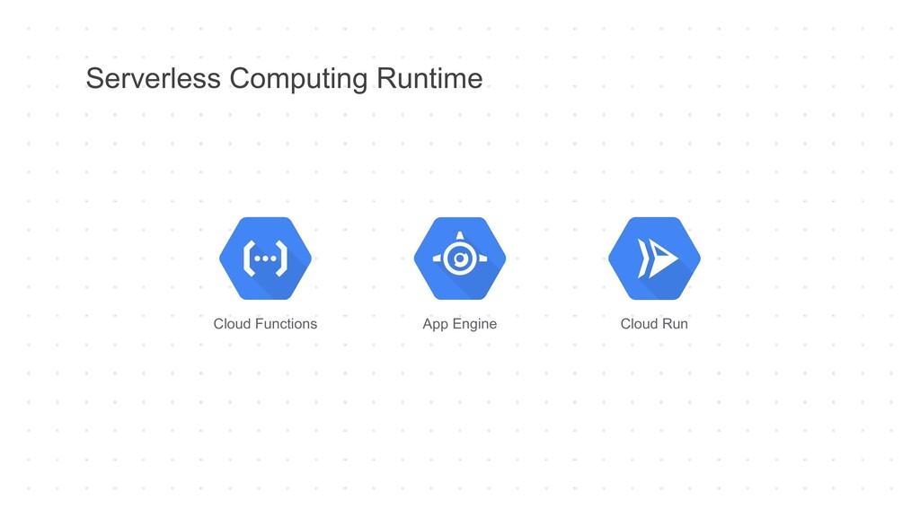 Serverless Computing Runtime Cloud Functions Ap...