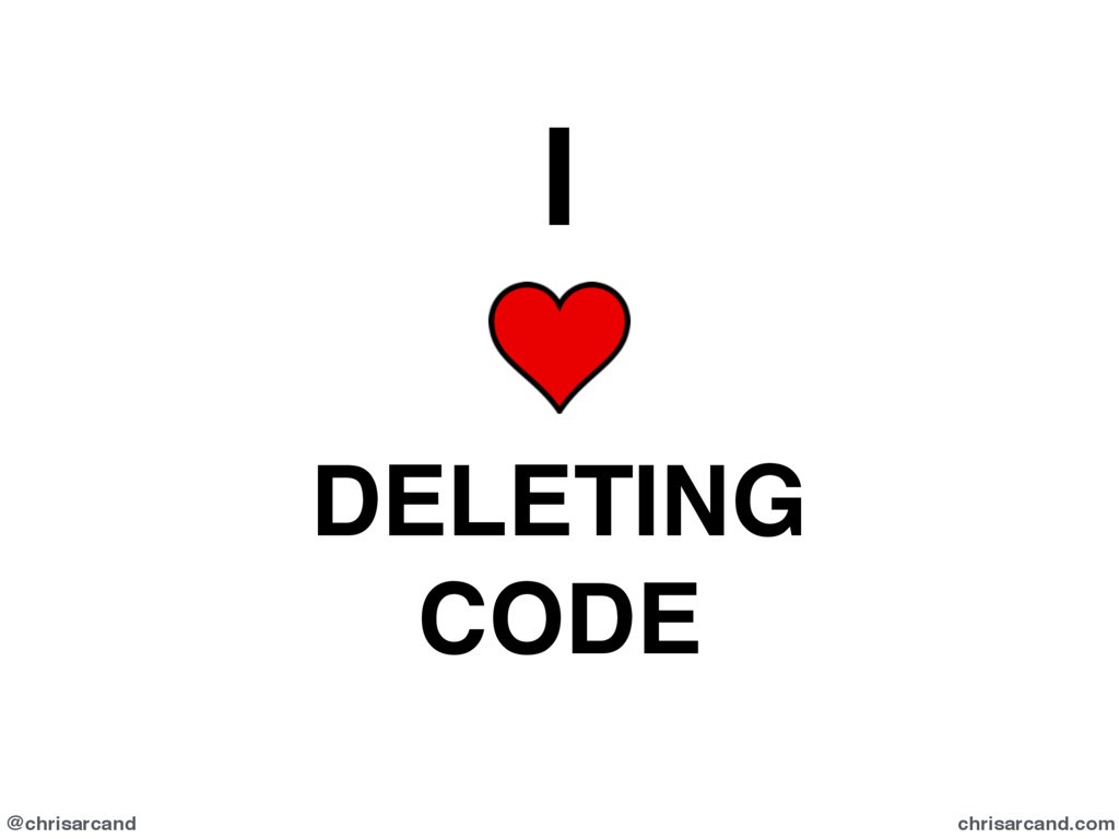 @chrisarcand chrisarcand.com I DELETING