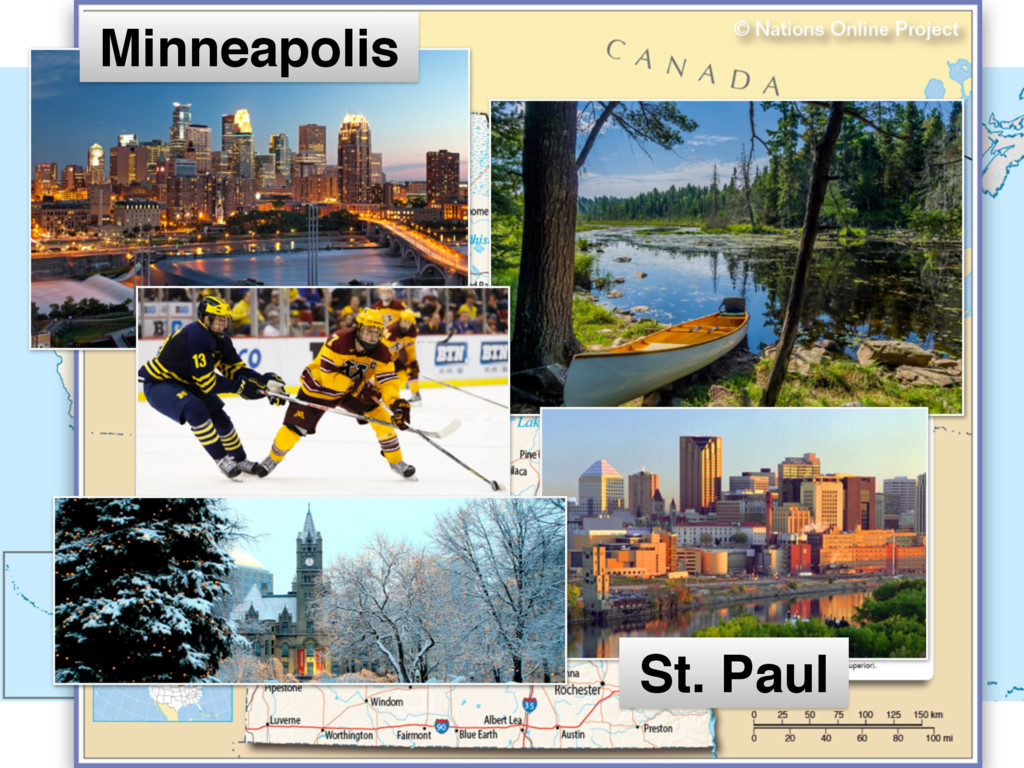 MINNESOTA Minneapolis St. Paul