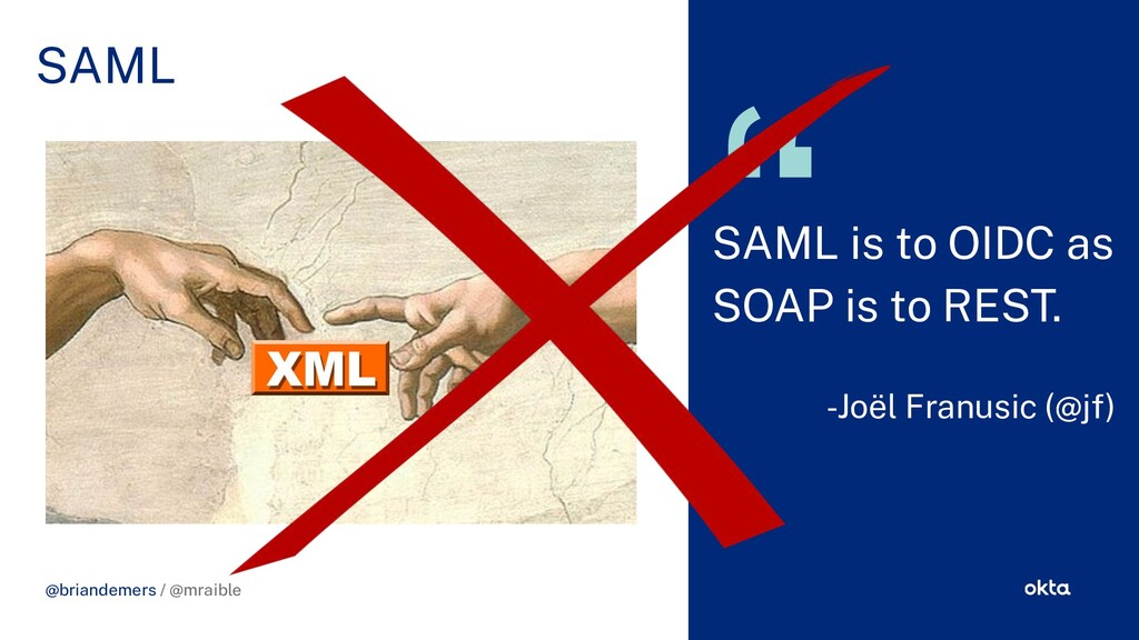 CHALLENGE SOLUTION @briandemers / @mraible SAML...