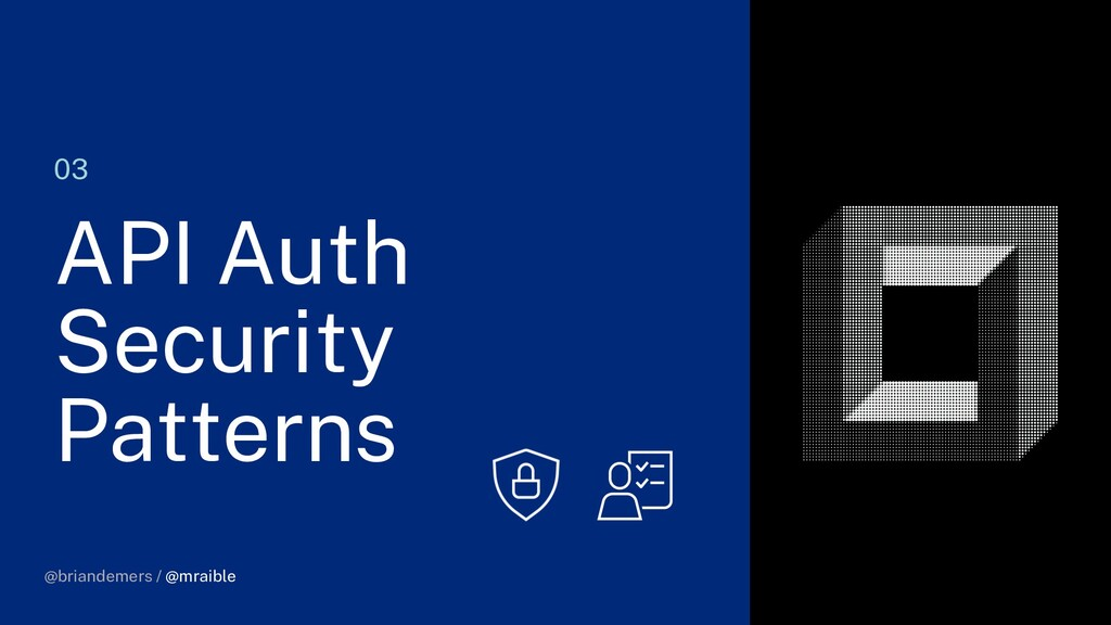@briandemers / @mraible 03 API Auth Security Pa...