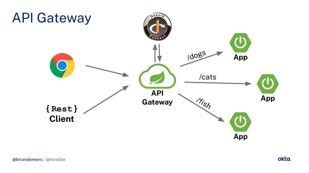 @briandemers / @mraible API Gateway API Gateway...