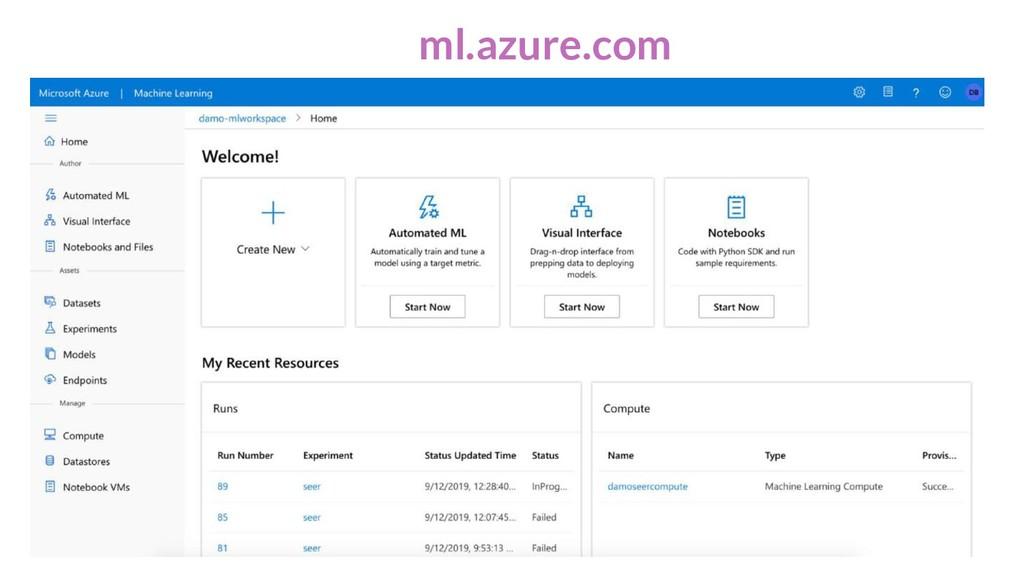 ml.azure.com