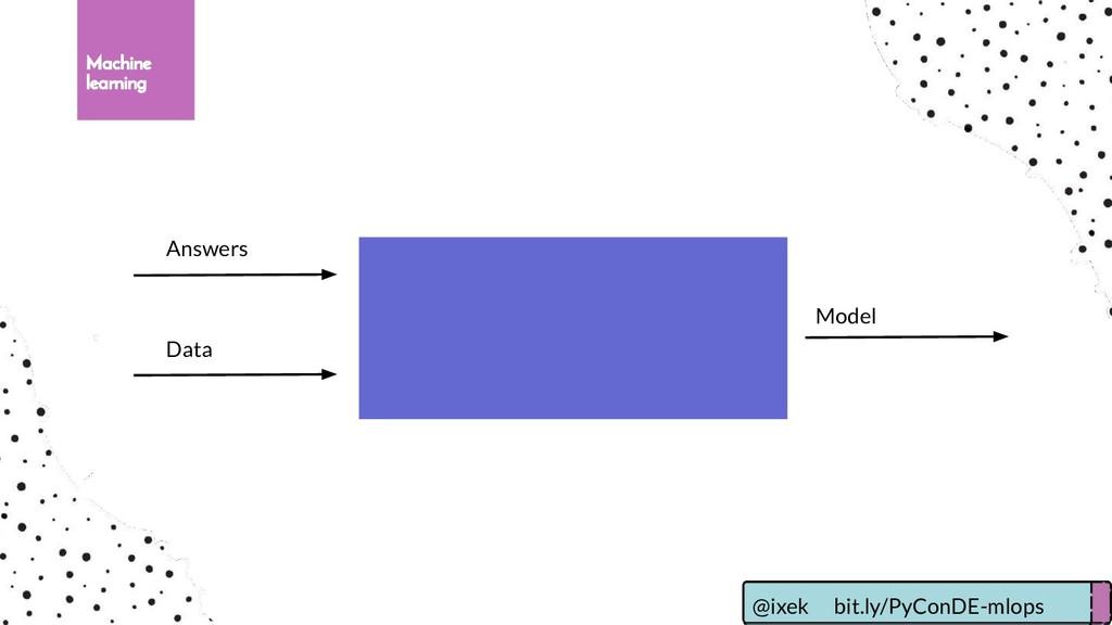 Machine learning Answers Data Model @ixek bit.l...