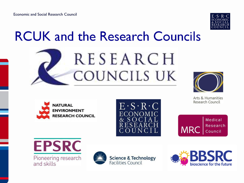 RCUK and the Research Councils