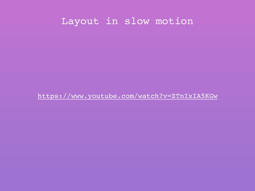 https://www.youtube.com/watch?v=ZTnIxIA5KGw Lay...