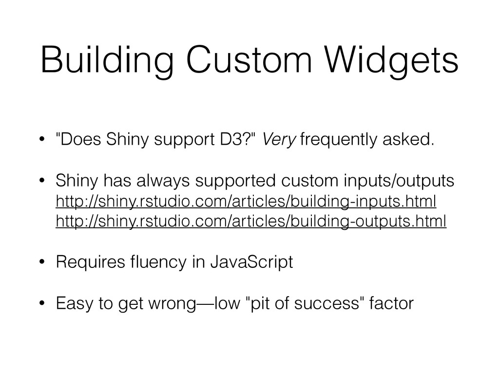 """Building Custom Widgets • """"Does Shiny support D..."""
