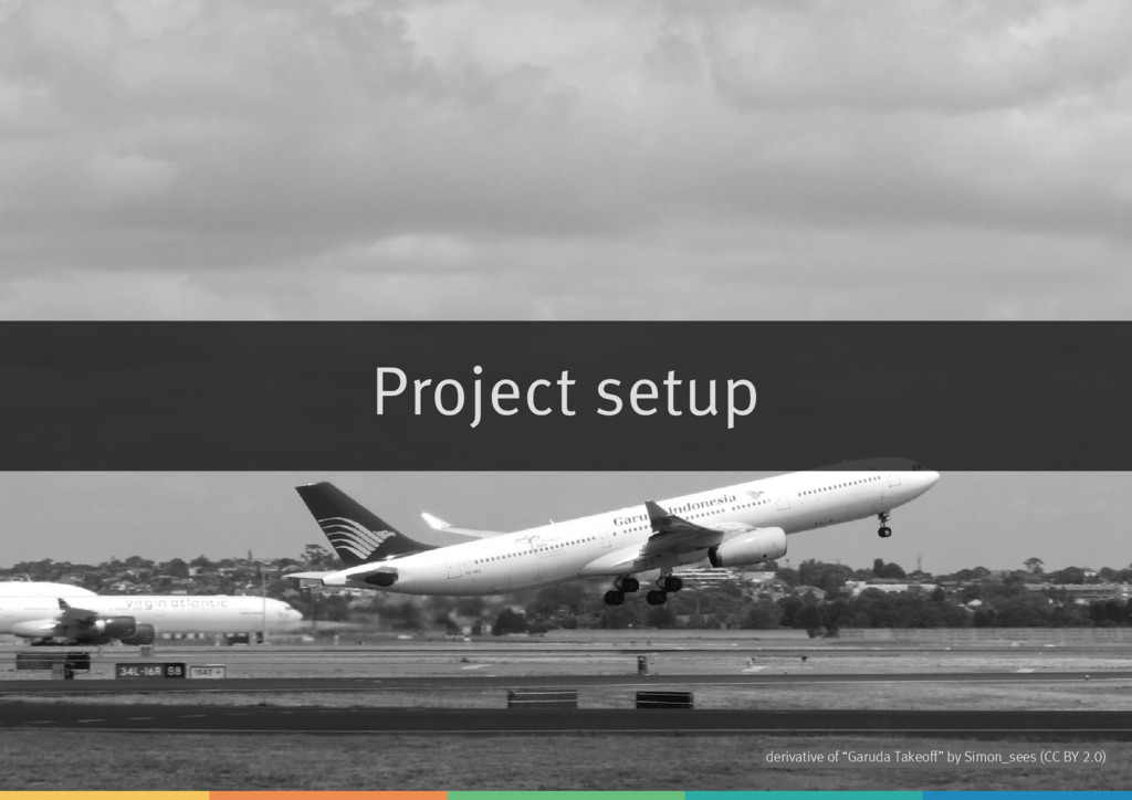 "Project setup derivative of by ""Garuda Takeoff"" ..."