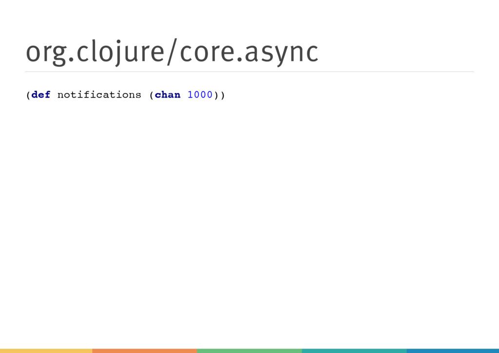 org.clojure/core.async ( d e f n o t i f i c a ...