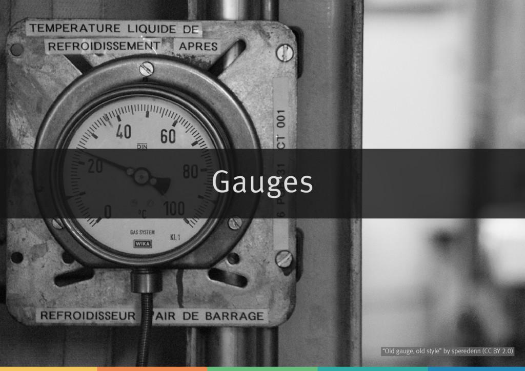 """Gauges by """"Old gauge, old style"""" speredenn (CC ..."""