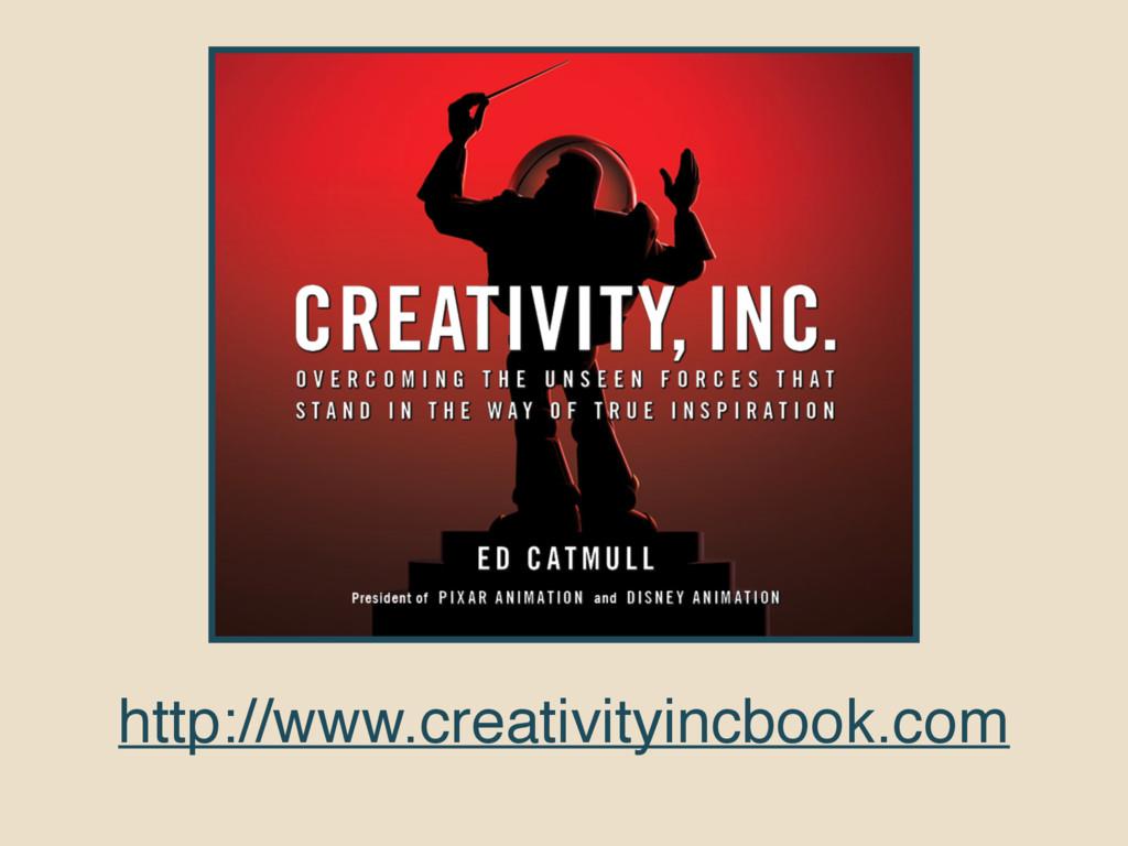 http://www.creativityincbook.com