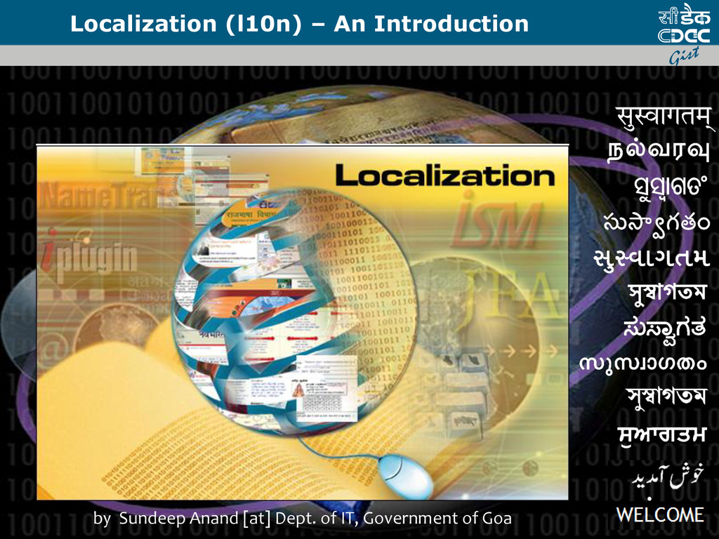 Localization (l10n) – An Introduction by Sundee...
