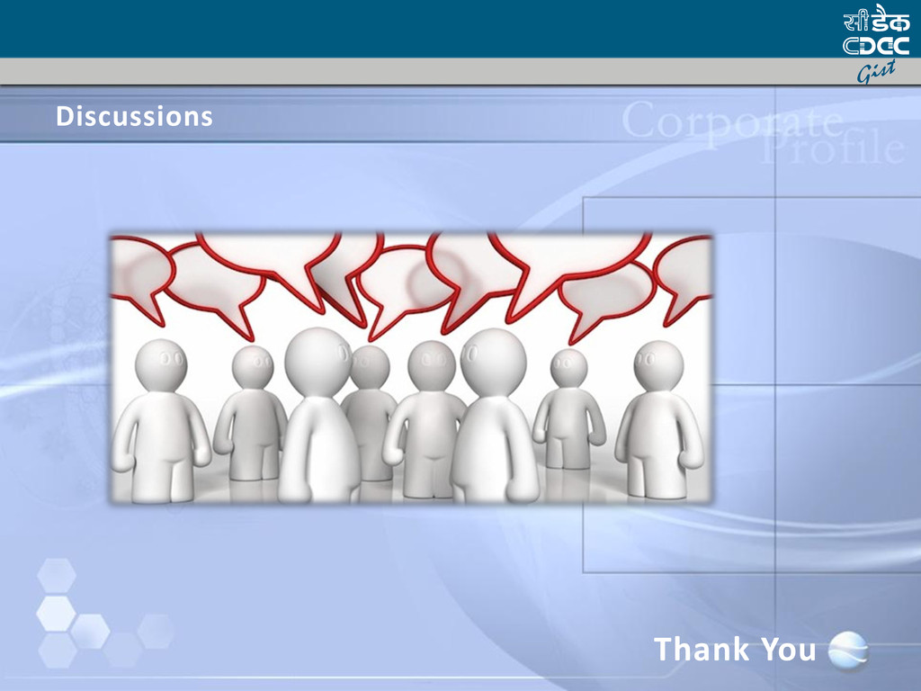 Discussions Thank You