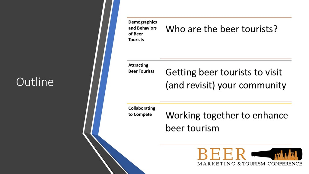 Outline 2 Demographics and Behaviors of Beer To...