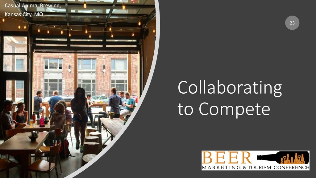 Collaborating to Compete 23 Casual Animal Brewi...