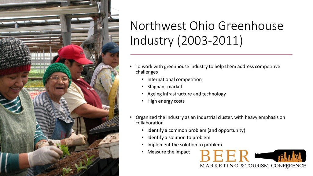 Northwest Ohio Greenhouse Industry (2003-2011) ...