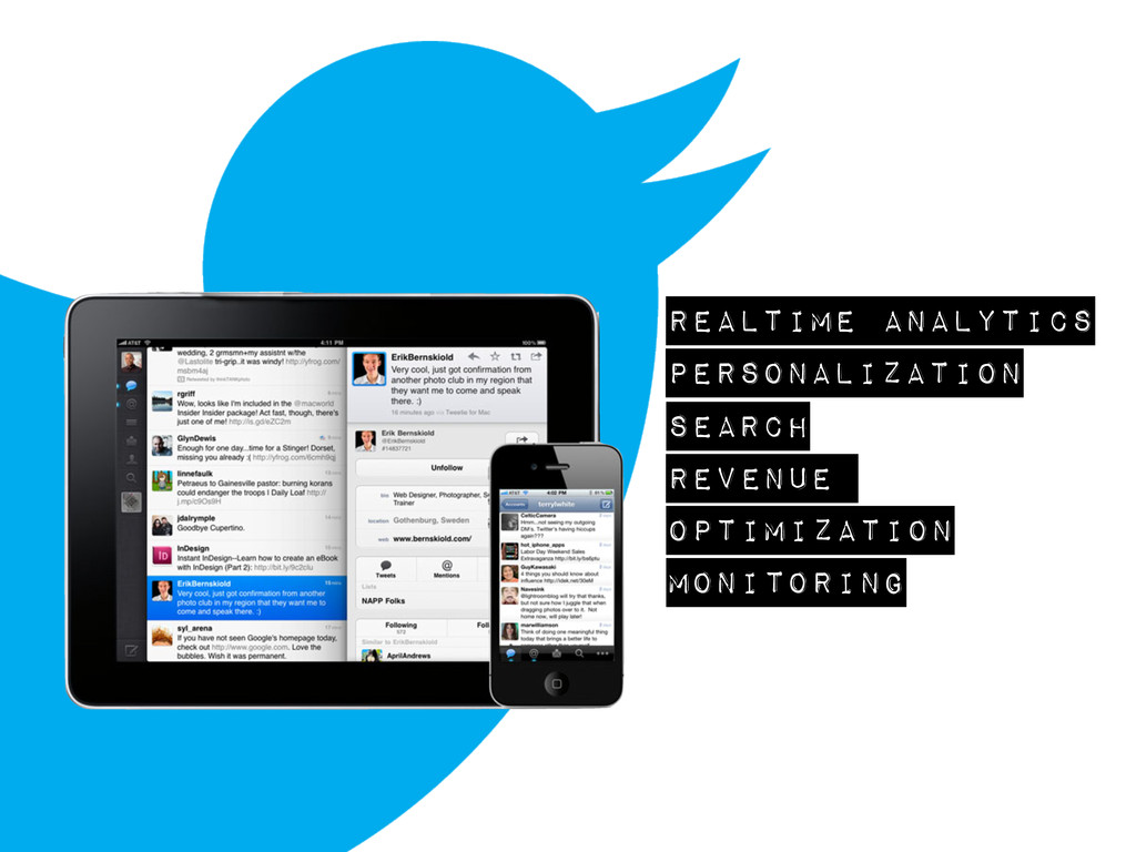 realtime analytics personalization search reven...