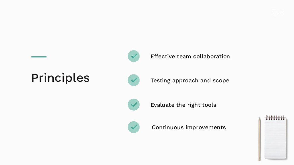 Effective team collaboration Testing approach a...