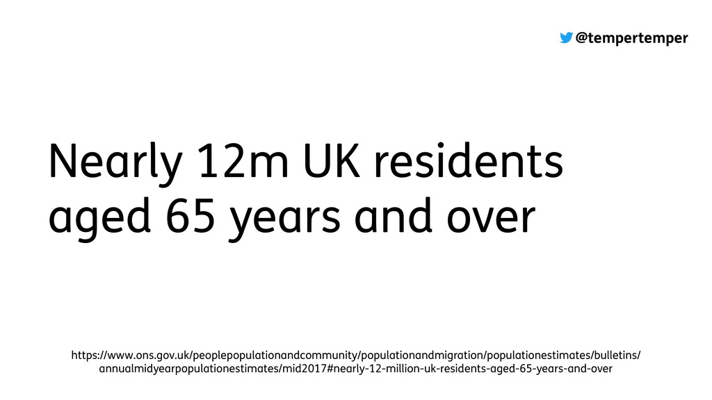 @tempertemper Nearly 12m UK residents aged 65 y...