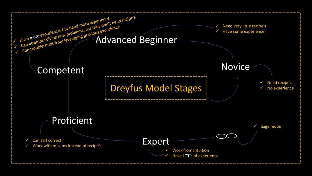 Dreyfus Model Stages Novice Advanced Beginner C...