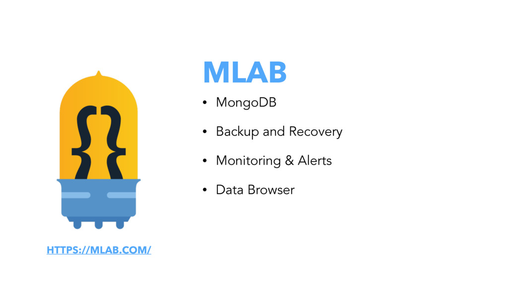 MLAB • MongoDB • Backup and Recovery • Monitori...