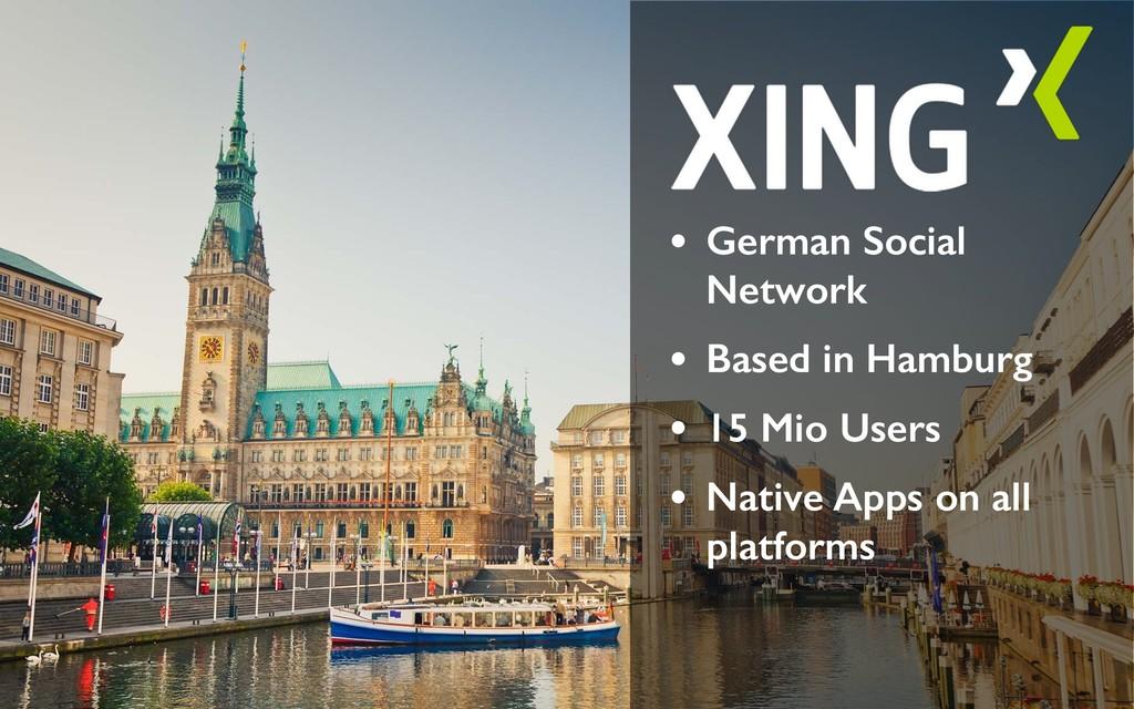 @terhechte • German Social Network • Based in H...